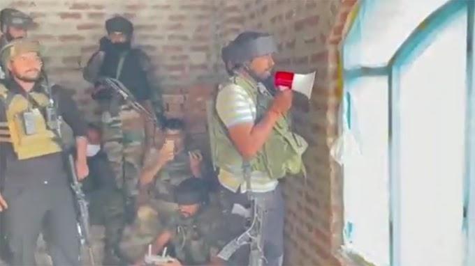 Operation Hanjipora: लश्कर के Terrorist को सेना के जवान ने दिया Family का हवाला, तुरंत कर दिया सरेंडर