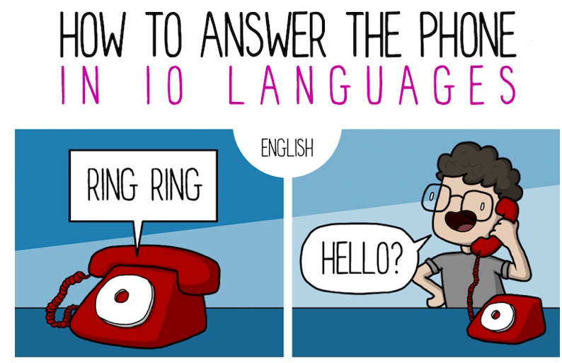 How to Answer the Phone in Several Different Languages