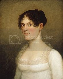 daughter of U.S. Vice President Aaron Burr and victim of a storm at sea