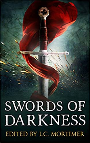 Cover image of Swords of Darkness, edited by L. C. Mortimer