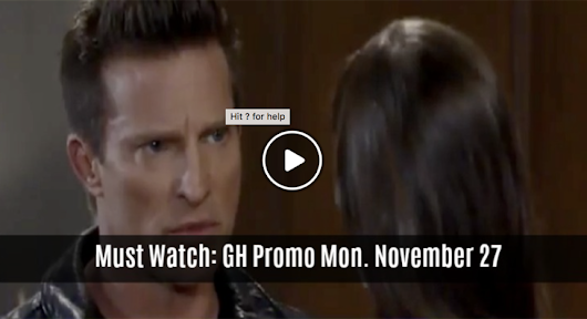 WATCH: General Hospital (GH) Preview Monday, November 27 Jason Tells Dr Nero She's Wrong - Soap Opera Spy