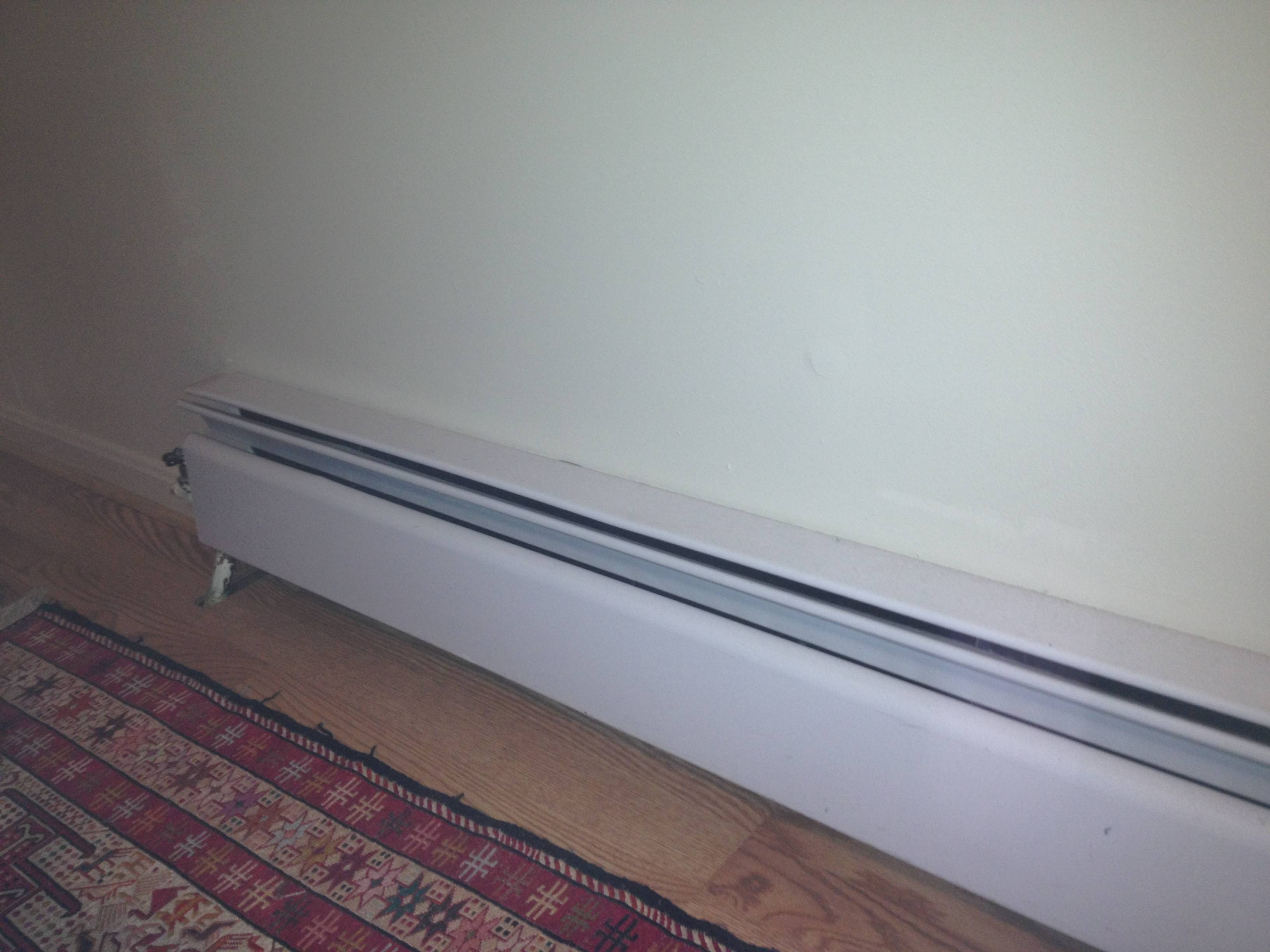 radiator - Why is my hot water baseboard heater not heating ...