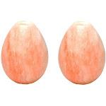 Salt Rox Pink Himalayan Rock Poultry Bird Brining & Seasoning Egg Stone (2 Pack) by VM Express
