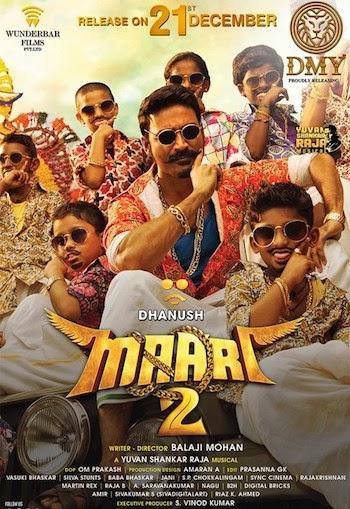 Maari 2 (2019) Hindi Dubbed 720p HDRip 1GB