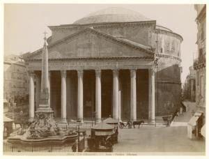 Roma--Pantheo d'Agrippa. Digital ID: 1619731. New York Public Library