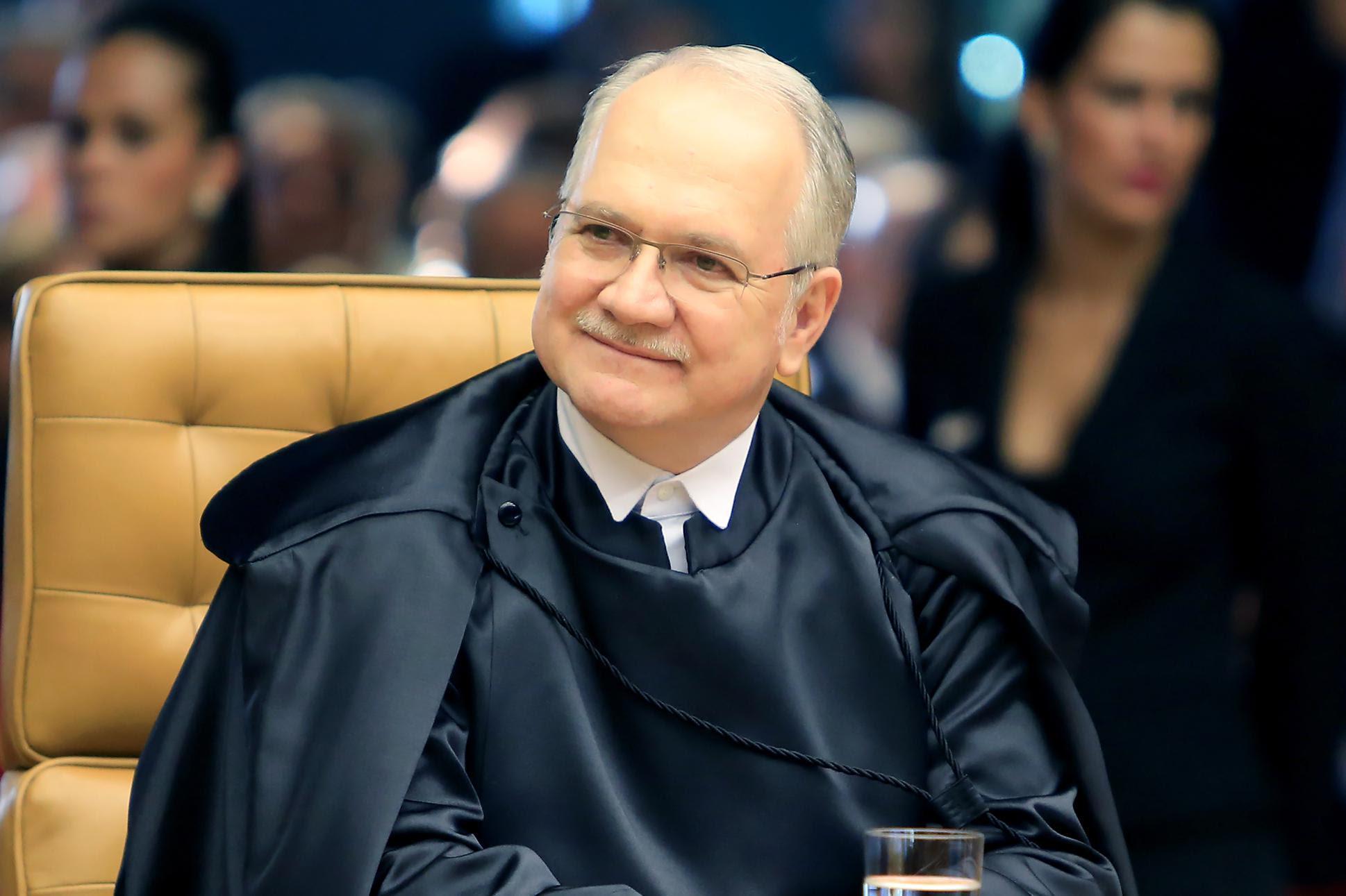 Brasília- DF- Brasil- 16/06/2015- Ministro Luiz Edson Fachin é empossado no Supremo Tribunal Federal.  Foto: Fellipe Sampaio/SCO/STF