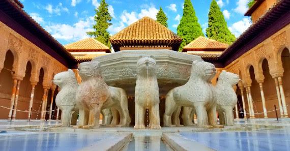 Visite Nocturne Jardins Alhambra