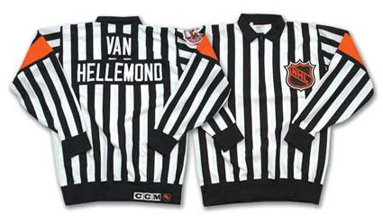 Andy Van Hellemond referee's sweater