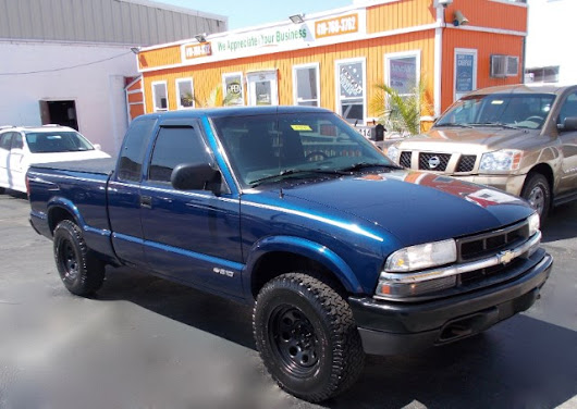 Used 2002 Chevrolet S10 Pickup Ext. Cab 4WD for Sale in Glen Burnie MD 21061 Guaranteed Auto Sales