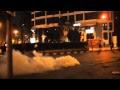 هجوم الشرطة على المتظاهرين عند السفارة الأسرائيلية