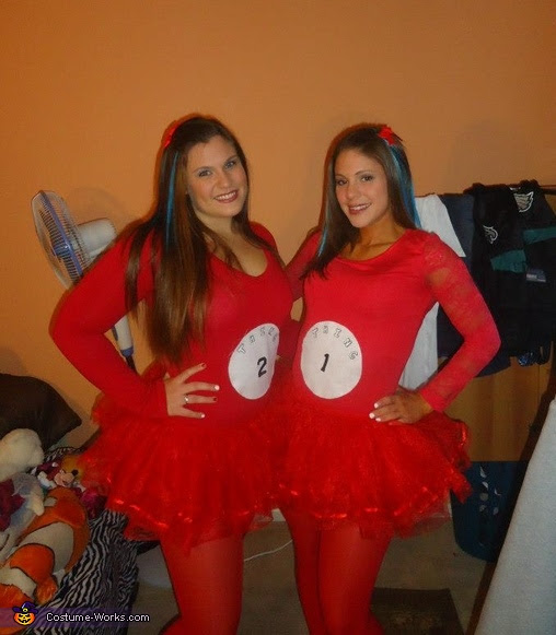 Thing 1 And 2 With The Cat In The Hat Costume Photo 25
