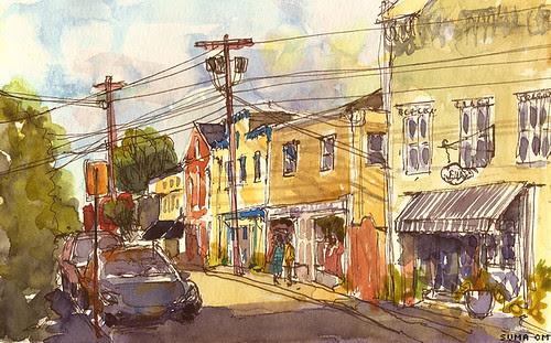 Water Street, Stonington, Connecticut