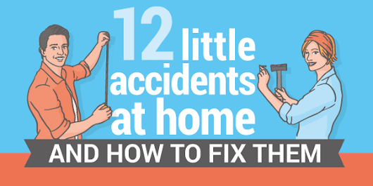 How To Tackle 12 Minor Accidents At Home - Roof One Michigan