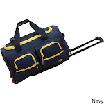 Rockland Navy 22-in. Rolling Duffle Bag