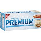 Nabisco Premium Original Saltine Crackers, Sea Salt - 16 oz box