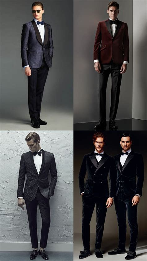 mens black tie alternativecreative dress code outfit