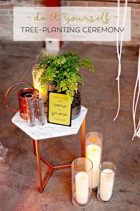 Check out this DIY Tree Planting Unity Ceremony!
