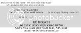 """[ Kế Hoạch 16 ] Tổ chức Lễ Kỷ Niệm 20/11/2012 """" Đuốc Sáng Ươm Mầm """""""