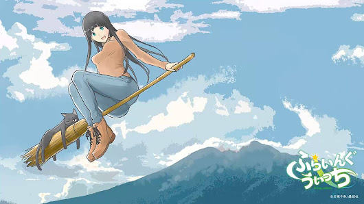 Flying Witch: la ternura hecha anime.