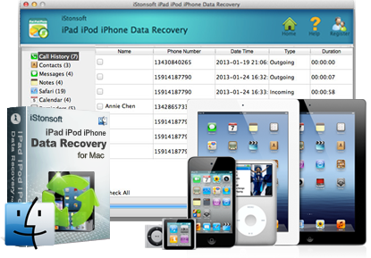 iPad\/iPod\/iPhone Data Recovery for Mac  Recover Data from iOS Devices on Mac Easily