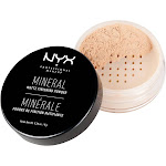 NYX Professional Makeup Mineral Matte Finishing Powder Light Medium - 0.28oz