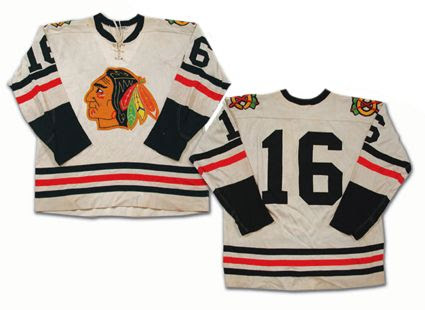 Chicago Black Hawks 61-62 jersey