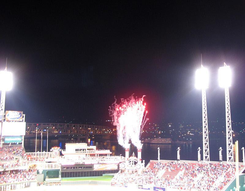 Reds 4 Indians 3