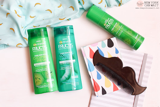 Nuovo Fructis #SUPERFRUTTI. Linea PURE NON-STOP: Coconut Water - Cucumber Fresh. - New York can wait - beauty, fashion, lifestyle
