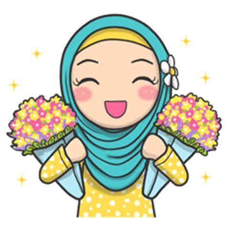 flower hijab  creators stickers