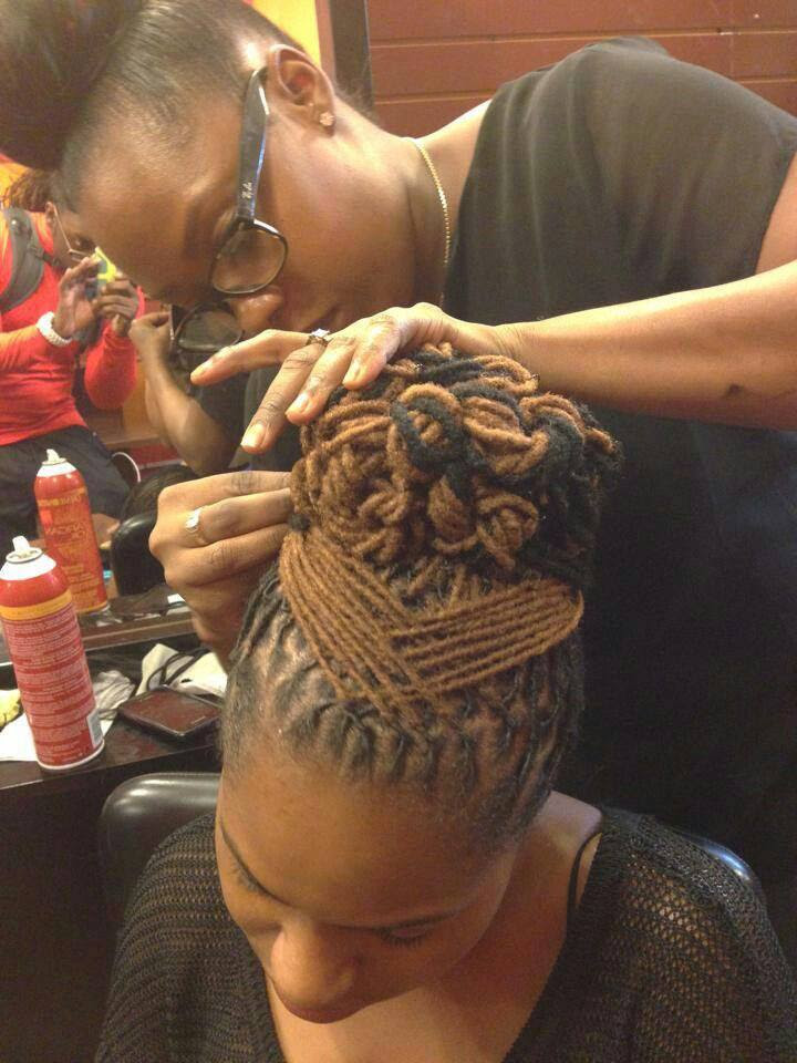 afro natural hair braids cane rolls (1)