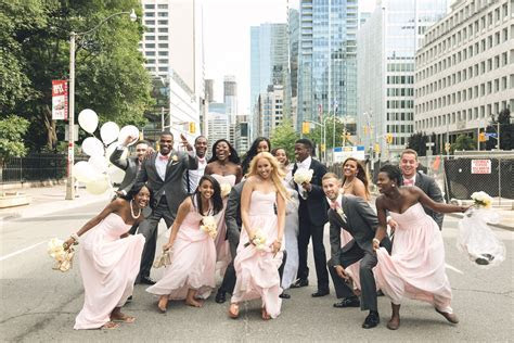 Fun shots with your bridal Party. Habesha Wedding