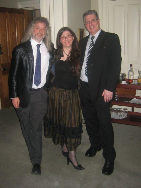 Davies with Yeti