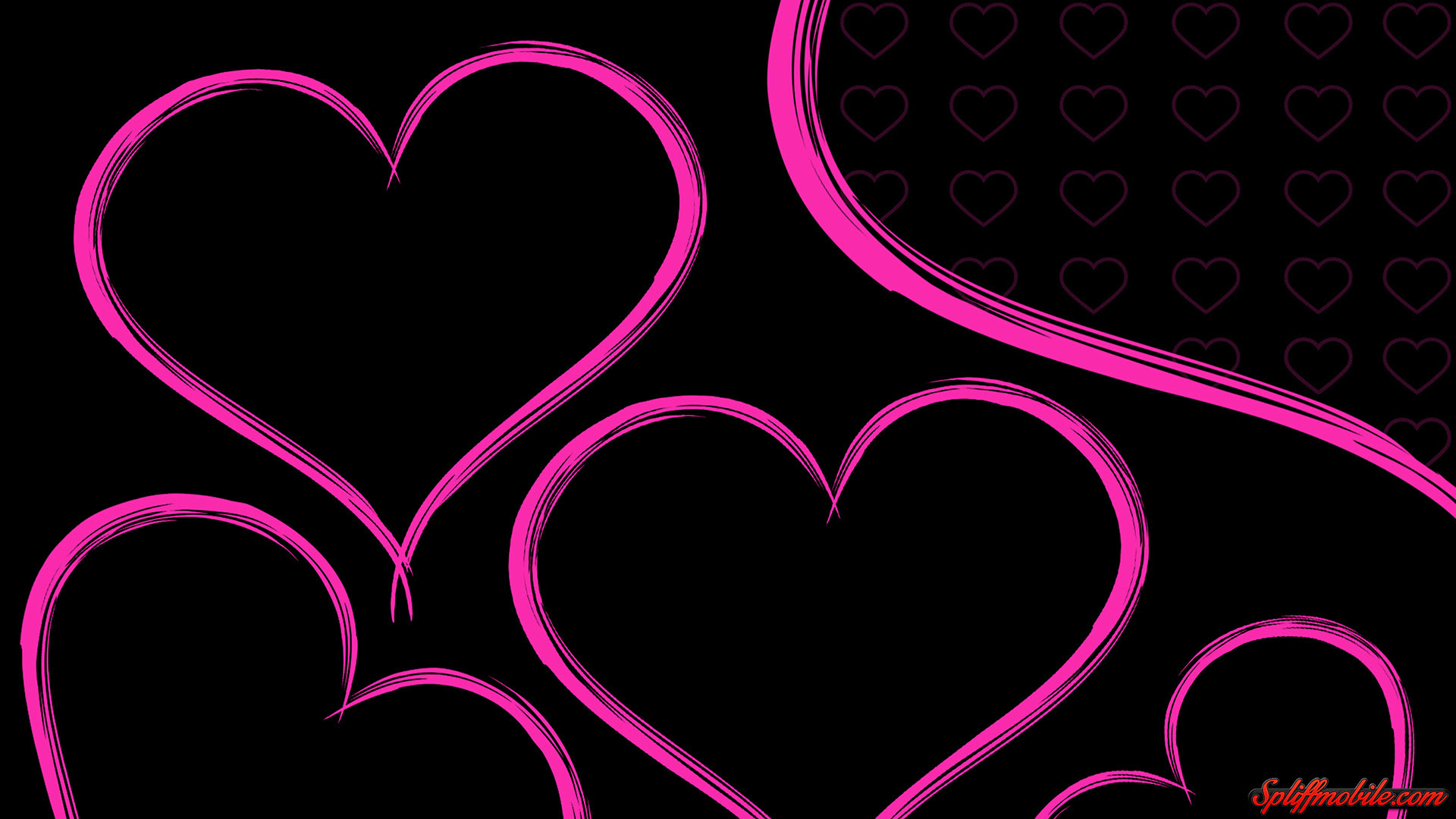Pink Heart Wallpaper 75 Images