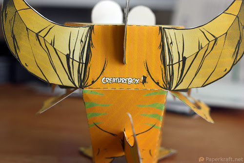 Thorndyke Monster Papercraft 04