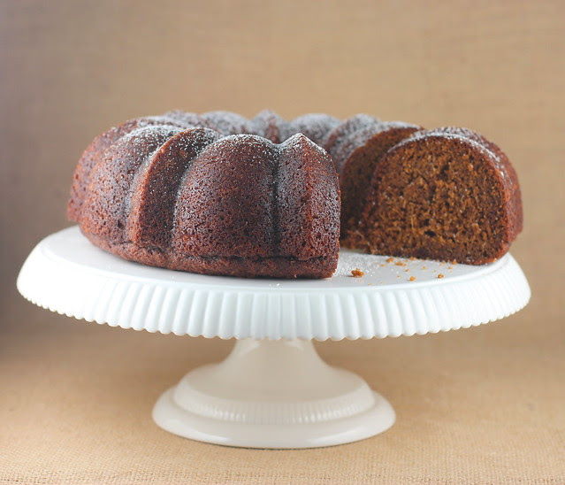 Fresh Ginger & Molasses Bundt Cake