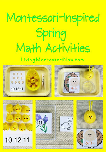 Montessori-Inspired Spring Math Activities