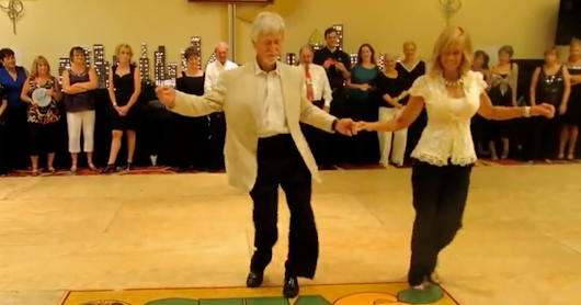 This Couple Surprises Everyone On The Dance Floor. Keep Your Eyes On Their Feet…