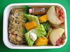 Wild salmon & yucca lunch