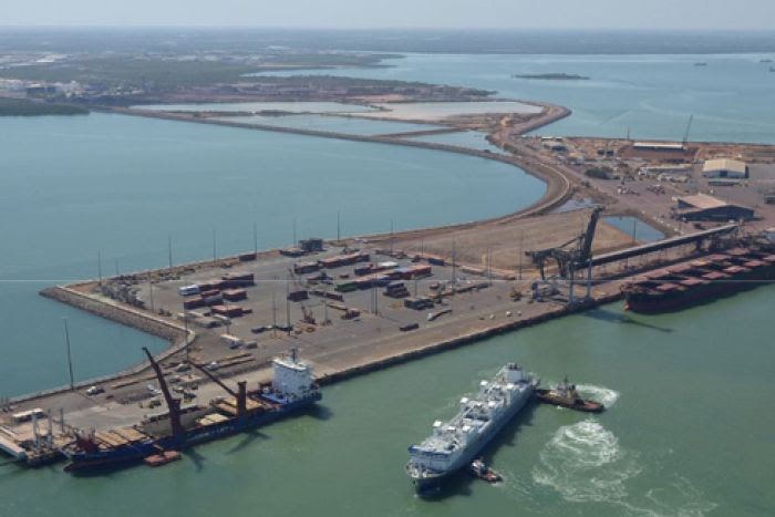 Image result for Darwin's Chinese port owners