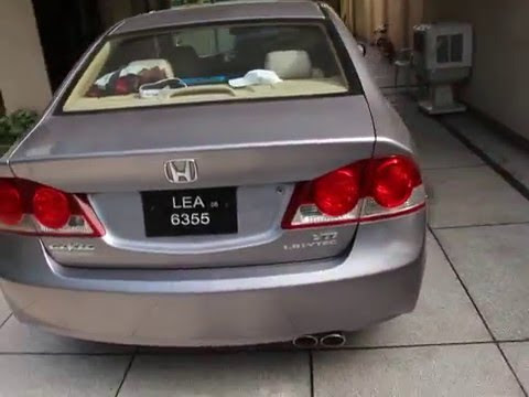 2007 Honda Civic Automatic For Sale In Lahore Pakistan Youtube