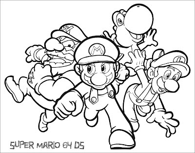 amazing coloring pages mario bros printable coloring pages