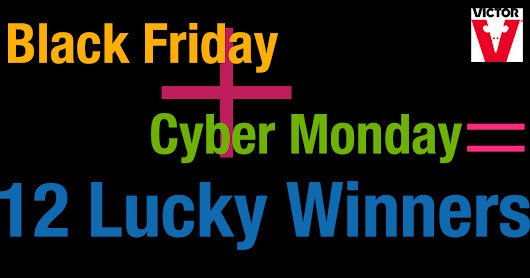 Enter the Victor Pest Black Friday - Cyber Monday Visa Gift Card Giveaway!