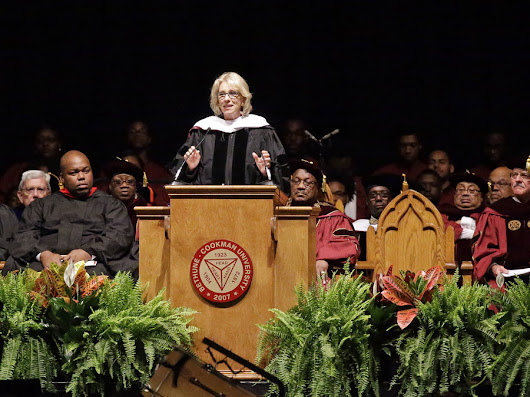 "Dear Bethune-Cookman 2017 Grads, Thank You For Telling Betsy Devos ""Nah"" 