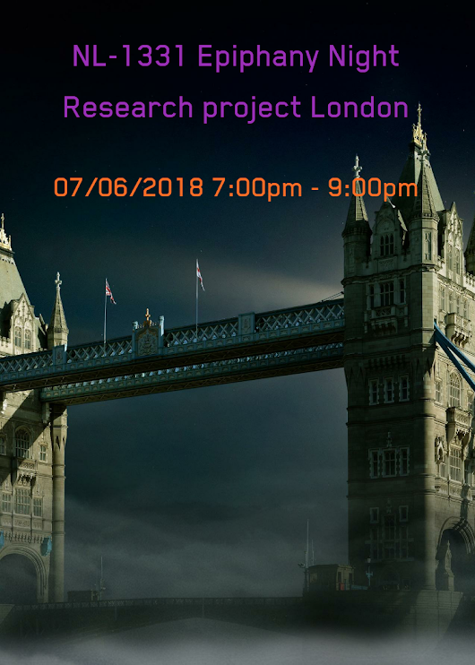 NL-1331 Epiphany Night Research project London