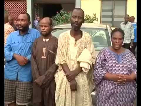 Graphic Video: Ritualists Arrested With Human