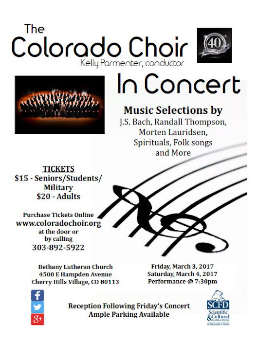 Join us for our Winter Concert this weekend!