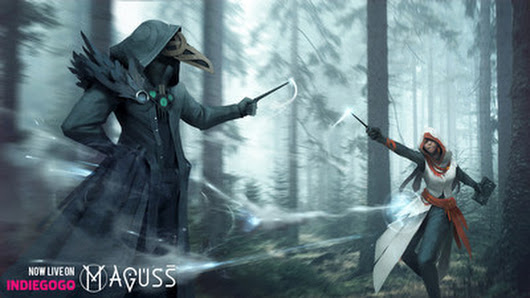 Maguss Brings Magic Into Real World. Wizard battles Are No Longer a Fantasy.