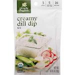 Simply Organic Dip Mix, Creamy Dill - 0.7 oz