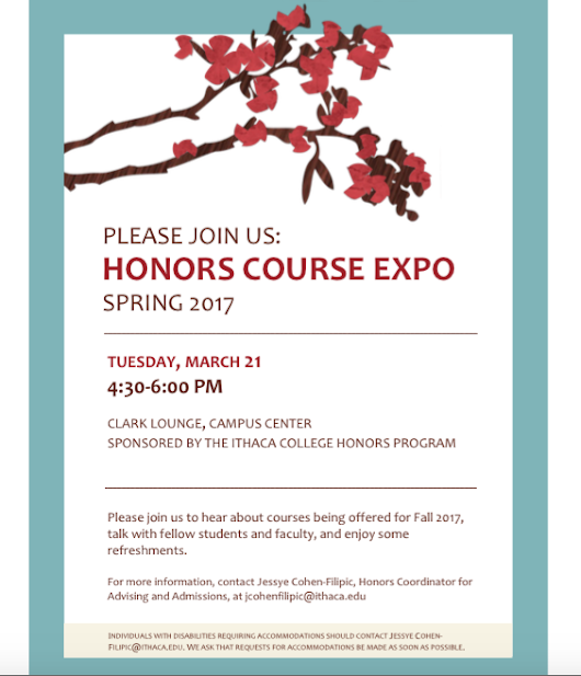 Honors Event: Fall Course Expo