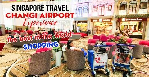 DU LỊCH SINGAPORE ▶ Trải nghiệm và Mua sắm tại sân bay xịn nhất thế giới Changi Airport